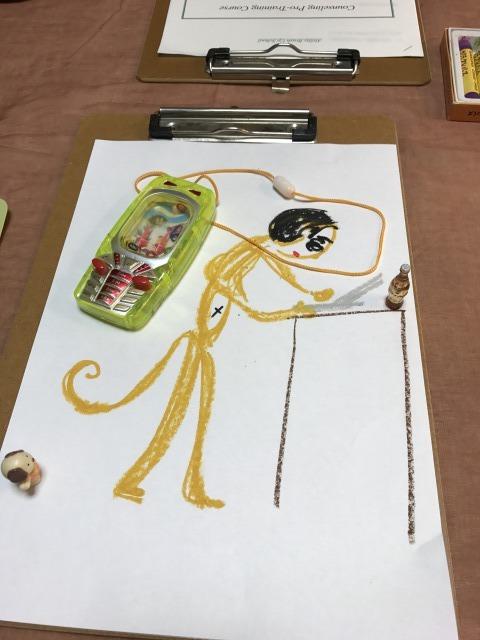 アートセラピーSATORUのお猿さんの絵
