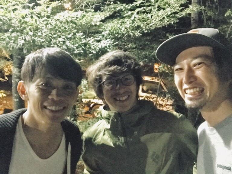 SATORUとNAOKIとYATOさん