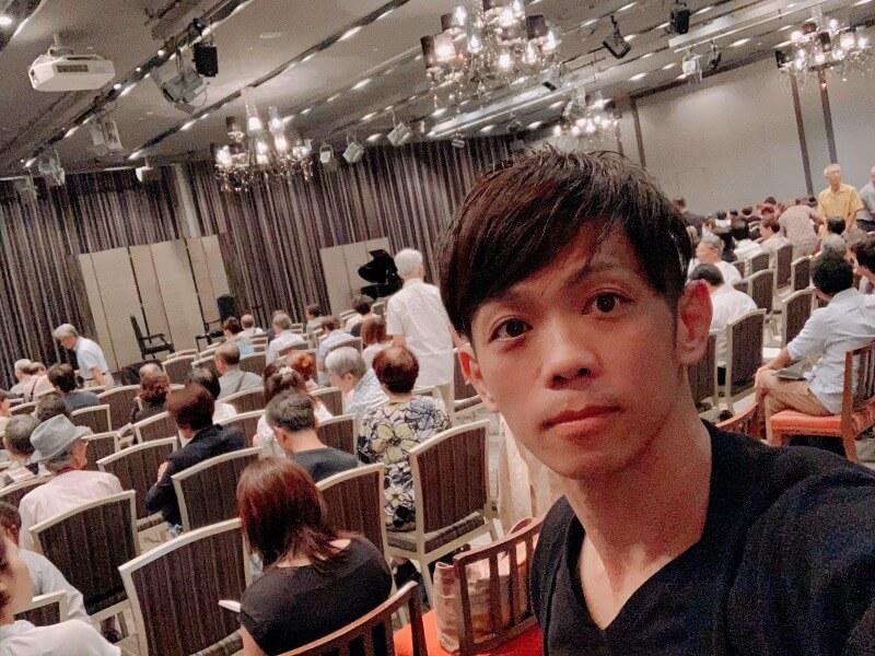 薬師寺(山田法胤)×MIXEセミナー会場にてSATORU